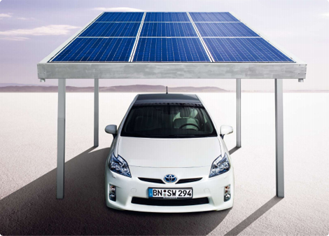 toyota nimmt solar carport von solarworld in betrieb solar. Black Bedroom Furniture Sets. Home Design Ideas