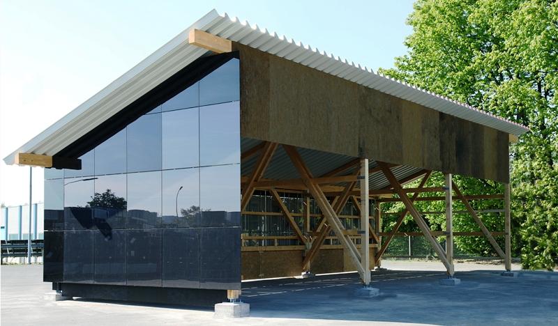 gehrlicher solar fertighalle mit solardach solar. Black Bedroom Furniture Sets. Home Design Ideas